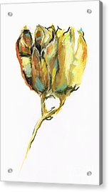 Acrylic Print featuring the painting Fritillaria by Frances Marino