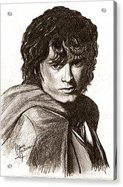 Frodo Acrylic Print by Maren Jeskanen