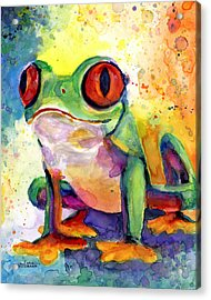 Froggy Mcfrogerson Acrylic Print