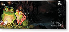 Frogs At Silver Lake Acrylic Print