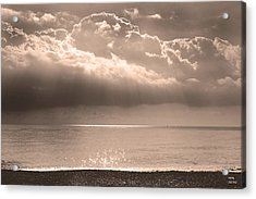 From A Distance Acrylic Print by Martina  Rathgens