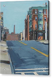 From A To Broadway Acrylic Print