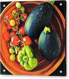 From My Garden Acrylic Print