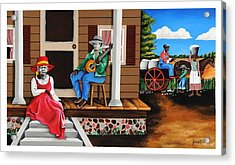 From Outhouse To The Mainhouse Acrylic Print
