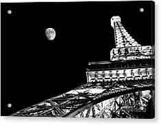 From Paris With Love Acrylic Print by Az Jackson
