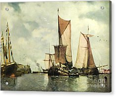 From Sail To Steam - Transitions Acrylic Print