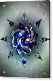 From Seeds Of Kaos Acrylic Print by Another Dimension Art