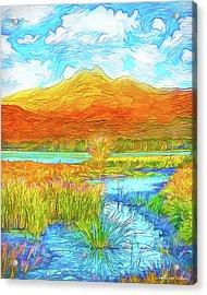 From Sky To Mountain To Stream - Boulder County Colorado Acrylic Print
