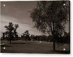 Acrylic Print featuring the photograph From The Fields - The Hermitage by James L Bartlett