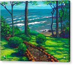 From The Hacienda Acrylic Print