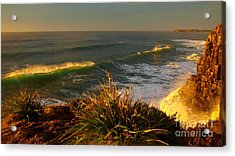 From The Headland Acrylic Print by Trena Mara