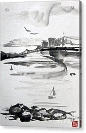 From The Marina Acrylic Print