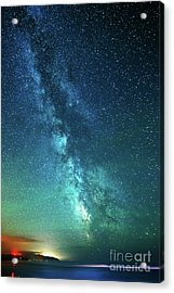 From The Pacific To The Milky Way Acrylic Print