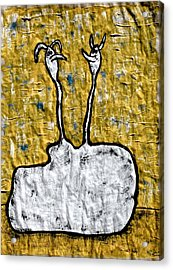 From The Same Cloth Acrylic Print by Mario Perron
