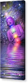 From The Sea Of Samsara Acrylic Print by Tim Gainey
