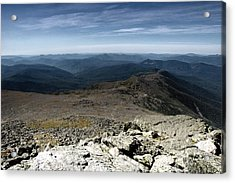 From The Summit Acrylic Print by Ross Powell