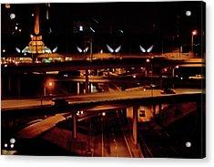 From The Summit Street Bridge Acrylic Print