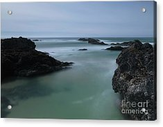 From The Top Of A Rock Acrylic Print