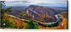 Acrylic Print featuring the photograph From The Top Of Mount Tammany by Mark Papke