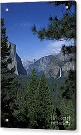 Acrylic Print featuring the photograph From Tunnel View In Spring by Stan and Anne Foster