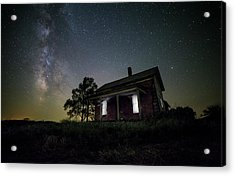 From Within Acrylic Print by Aaron J Groen