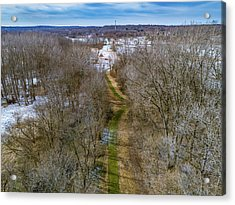 From Woods To Snow Acrylic Print
