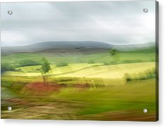 heading north of Yorkshire to Lake District - UK 1 Acrylic Print
