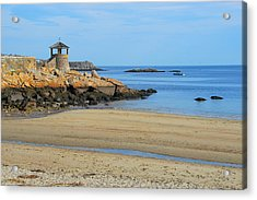 Acrylic Print featuring the photograph Front Beach Low Tide by AnnaJanessa PhotoArt