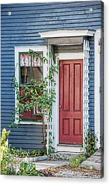 Front Door Three Acrylic Print by Suzanne Bauer Photography