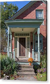 Front Door Two Acrylic Print by Suzanne Bauer Photography