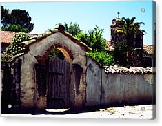 Front Gate -mission San Miguel Acrylic Print