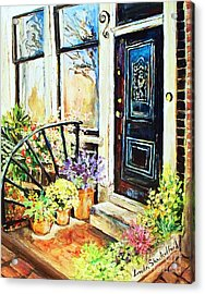Front Porch Acrylic Print by Linda Shackelford