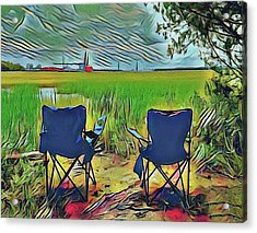 Front Row Seat Acrylic Print
