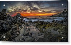 Acrylic Print featuring the photograph Front Yards Of Laguna Beach by Sean Foster