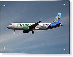 Frontier Airbus A320-251n 20 Acrylic Print