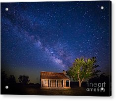 Frontier House Acrylic Print by Inge Johnsson