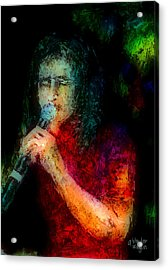 Frontman Acrylic Print by Arline Wagner