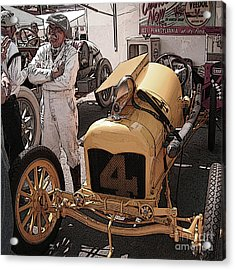 Fronty Ford 1915 Acrylic Print by Curt Johnson