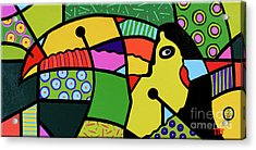 Froot Flavored Flyer Acrylic Print by Tim Ross