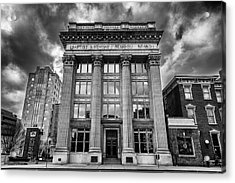 Frost Building - Lifeway Christian Resources Acrylic Print by Stephen Stookey