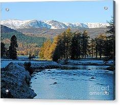 Frost In The Glen - Invercauld Acrylic Print