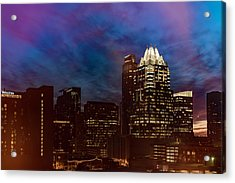 Frost Tower Acrylic Print