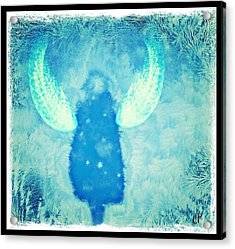 Frosted Angel Acrylic Print