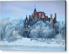 Frosted Castle Acrylic Print by Lori Deiter