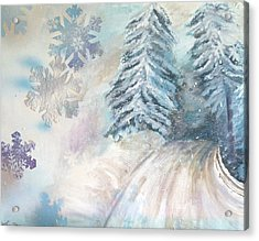 Frosted Secrets Of Winter Acrylic Print