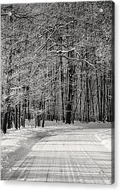 Frosted Steps Acrylic Print