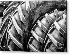 Frosted Tires Acrylic Print