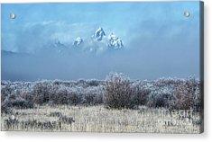 Frosty Fall Morning - Grand Teton National Park Acrylic Print