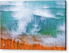 Frothing Over Acrylic Print