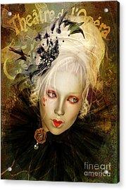 Frou Frou Lopera Acrylic Print